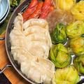 豚バラ肉のキャベツ巻きで中華風お鍋♪