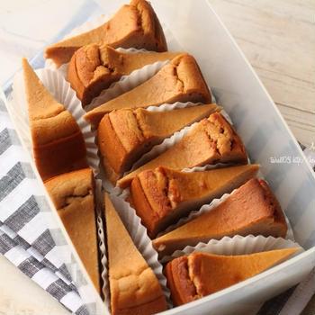 マロンチーズケーキ練習②🌰
