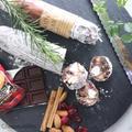 好きなものいっぱい詰め込んだチョコサラミ by 安藤千英/料理家 さん