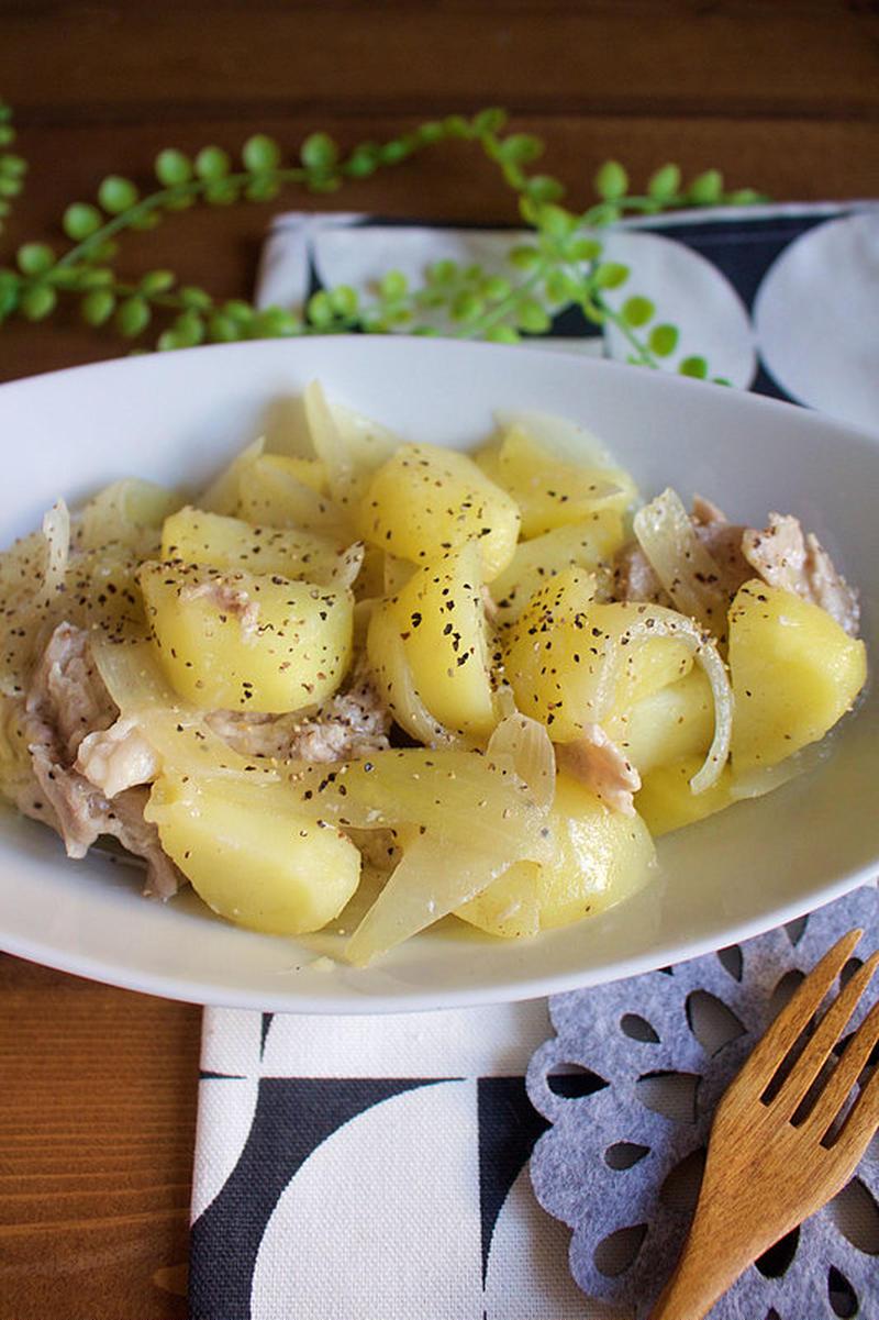 定番味に縛られない!たっきーママさんのレンチン「塩バター肉じゃが」が簡単でおいしい!