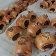 あん切りパン作り(犬仲間でパン作り)