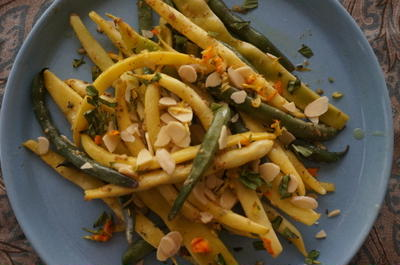 シシカバブ & インゲン豆のサラダでギリシャ風おもてなし