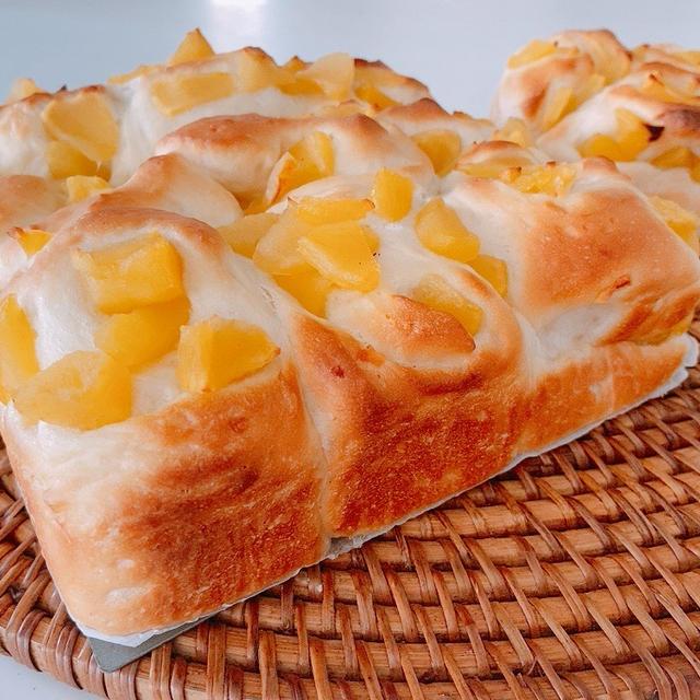 ふわふわ♡たっぷりりんごのちぎりパン*楽天お買い物マラソン