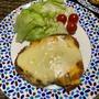 Wチーズチキン&車海老のぺペロン&青い泡