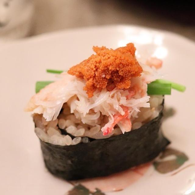 ★ お家カニ寿司