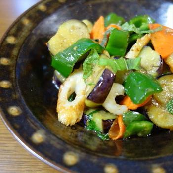 野菜の味噌炒め /鍋焼き肉うどん