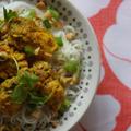 ベトナム風ターメリックとディルの白身魚焼き