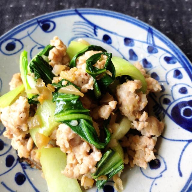 あと一品!うまうま簡単レシピ⑦・・豚肉と青梗菜のザーサイ炒め