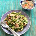 NHK「あさイチ」ポン酢しょうゆを使ってタイ料理2品でした♪ #あさイチレシピ #タイ料理