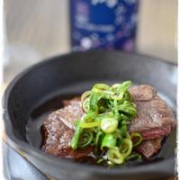 【澪と楽しむ】バルサミコ醤油のステーキ*スキレットで焼いてみました*