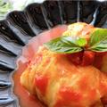 トマトスープのロールキャベツ【#キャベツ #合挽き肉 #トマト #レシピ #作り置き】