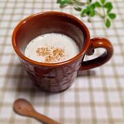 【レシピ】きなこと豆乳のホットドリンク