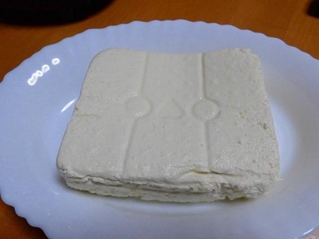 ジューサーで作った豆腐