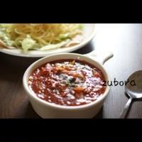 簡単つけスパゲティ☆ベーコンと玉ねぎのミートソース