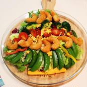ツリー風サラダ