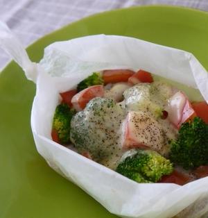 彩り野菜と豚肉のトマト煮