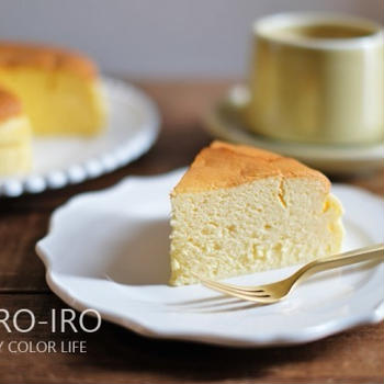 試作中のチーズケーキと、今日のレシピ