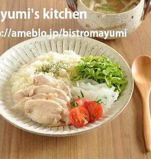 お家でタイ料理を楽しむ方程式って?!フライパンでタイ風チキンライス(カオマンガイ)