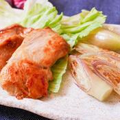 鶏むね肉のガラムマサラ味噌漬け