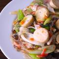 【ストック食材活用】なんちゃって海鮮チャプチェ