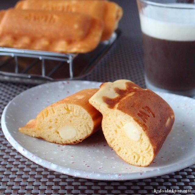 チーズ入りパンケーキ   ホットサンドソロ