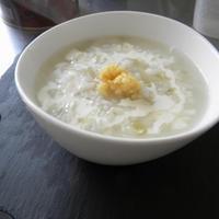 ジンジャーミルク粥