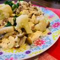 豚しゃぶdeおから入り和風の豆腐サラダ