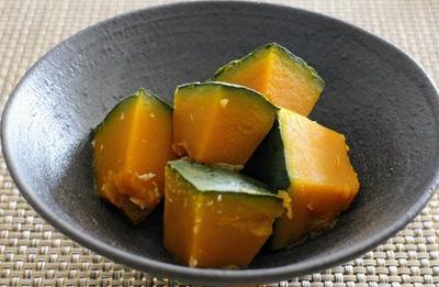 【作り置き】おかず:塩麹のかぼちゃの煮物のレシピ