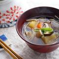 具だくさんのけんちん汁☆圧力鍋で作ってみたら根菜の旨味が凝縮された!! by ひなちゅんさん