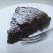 チョコとタマゴだけ究極チョコレートケーキ