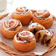 【パンレシピ】アイシングたっぷりが美味しい♡カフェモカロール