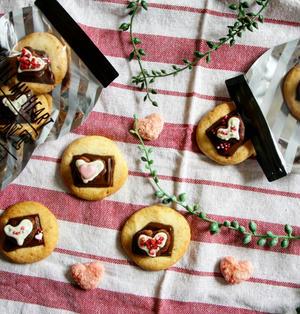 【簡単!バレンタインに!】大量生産も出来ちゃう♪チョコ・オンザ・クッキー