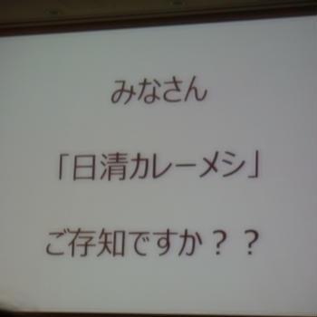 サンプル百貨店 RSP55in品川 日清食品 日清カレーメシ
