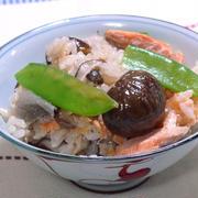 生鮭の秋味おこわ  お米で気軽に!