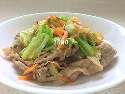 ご飯が進む♪豚肉とキャベツのピリ辛味噌炒め