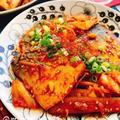 塩サバのキムチ煮(動画レシピ)/Mackerel with kimchi.