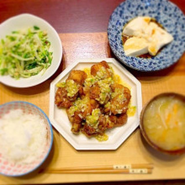 塩レモンのから揚げ&食欲すごい!!