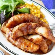 冷凍ポテトで時短♪節約♪ 【肉巻きポテトのBBQソース】#ウワサのお客さま紹介レシピ