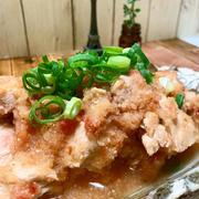 鶏胸肉の梅おろし煮