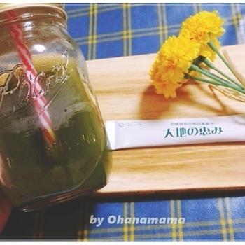 明日葉青汁『大地の恵み』モニターレビュー、安心で栄養価の高い青汁を選ぶならコレ!