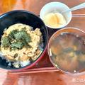 今日はサンドイッチデー【朝ごはん】ツナ玉丼【昼ごはん】カットステーキ弁当【晩ごはん】ミートパスタ