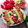 母の日に作ろう!ふわふわ生地のフルーツスコップケーキ by ルシッカさん