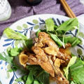 コラーゲンたっぷり バルサミコ酢風味で手羽元煮