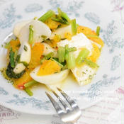 かぶとオレンジのフレンチサラダ