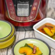 かぼちゃは蒸すと甘味が増し美味しく仕上がる かぼちゃのシナモン風味煮浸し
