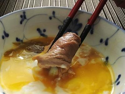 鴨のすき焼きレシピ