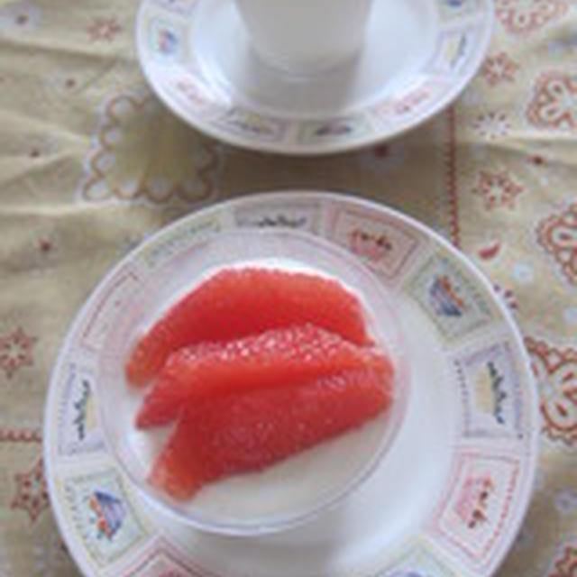 「豆腐のカルピスムース」