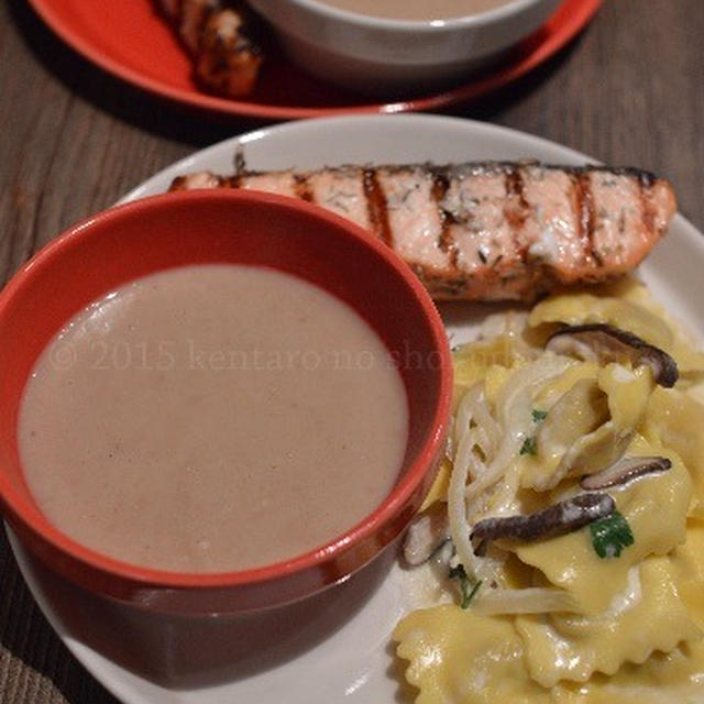【栗のスープ】冷凍で 生栗甘み 倍増し