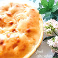桃いっぱいカルピスヨーグルトケーキ♪