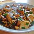 わが家のにらたっぷりマーボー豆腐